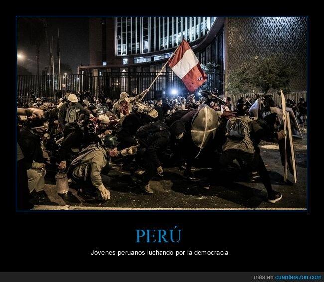 democracia,lucha,perú