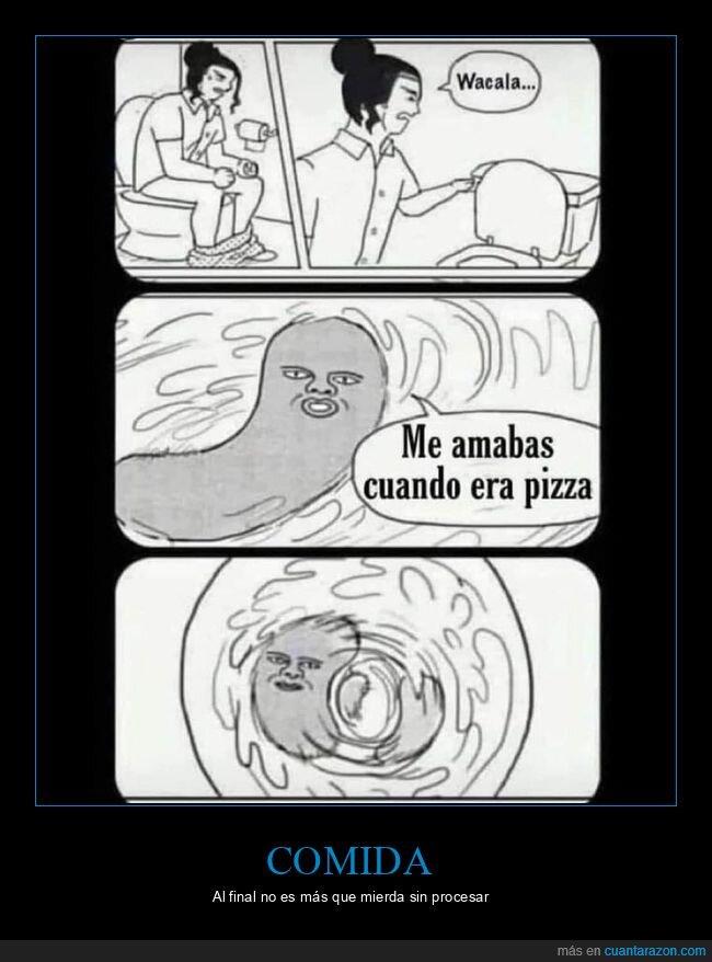 amar,cagando,mierda,pizza,váter