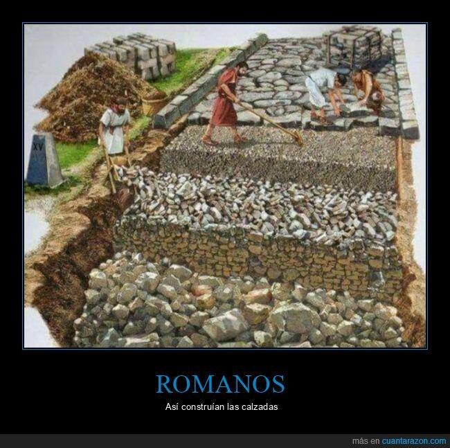 calzadas,romanos