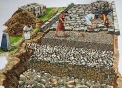 Enlace a Construcción de una calzada romana