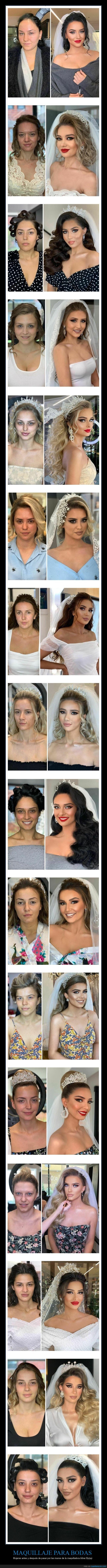 antes,arber bytyqi,boda,después,maquillaje