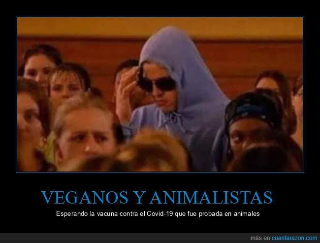 animalistas,coronavirus,vacuna,veganos
