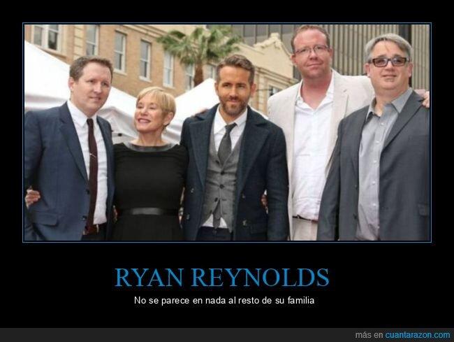 familia,parecerse,ryan reynolds
