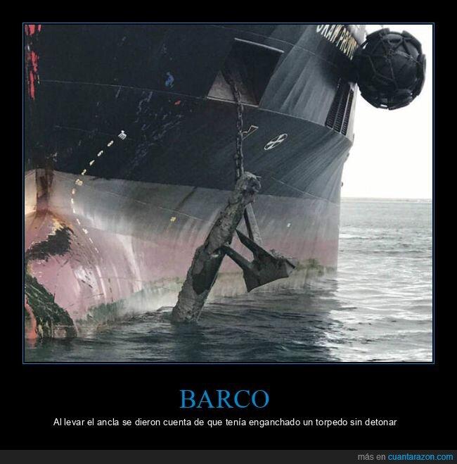 ancla,barco,torpedo