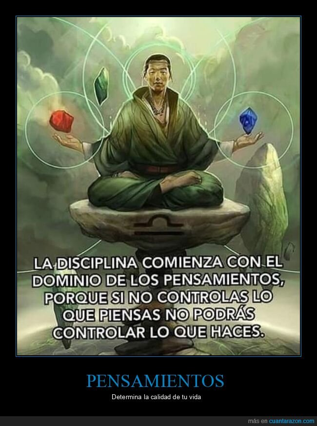 controlar,disciplina,pensamientos,pensar
