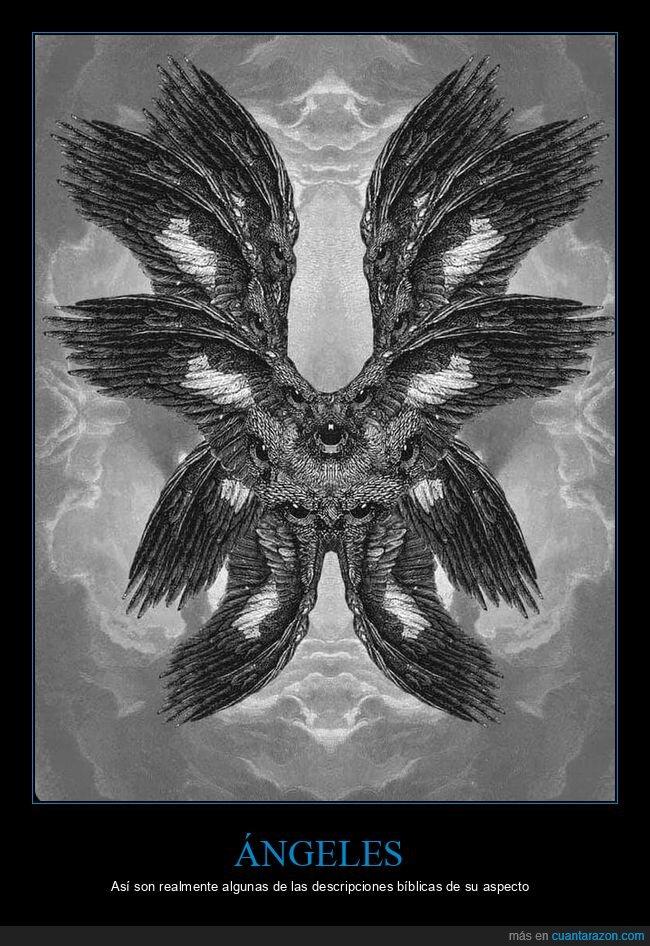 ángeles,biblia,descripciones