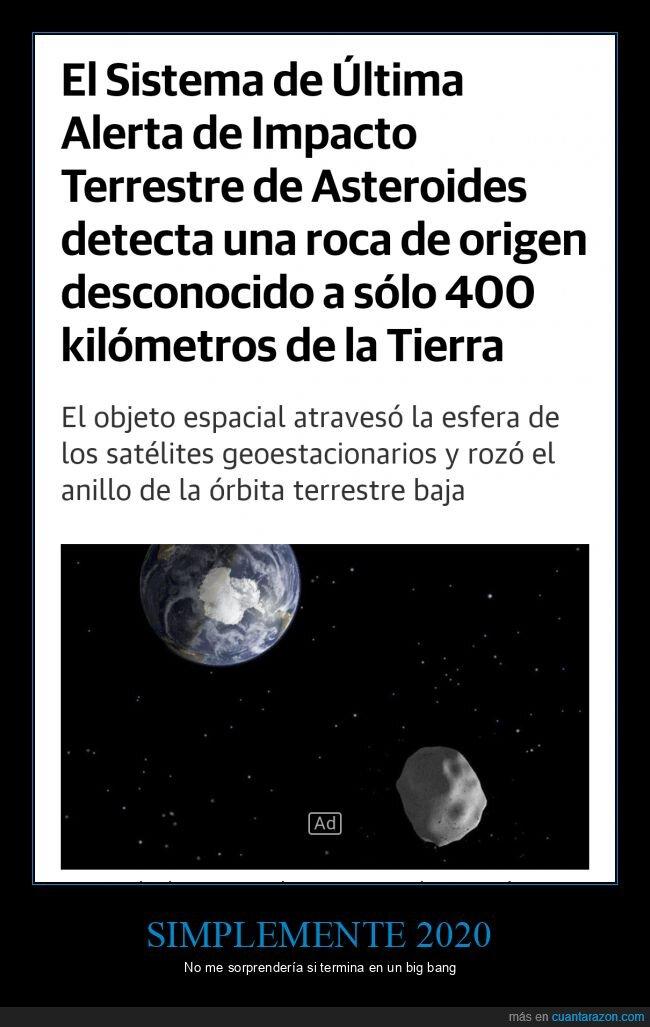 2020,asteroide,tierra