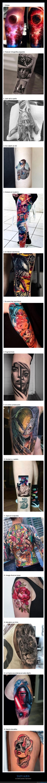 diseños,hiperrealistas,tatuajes