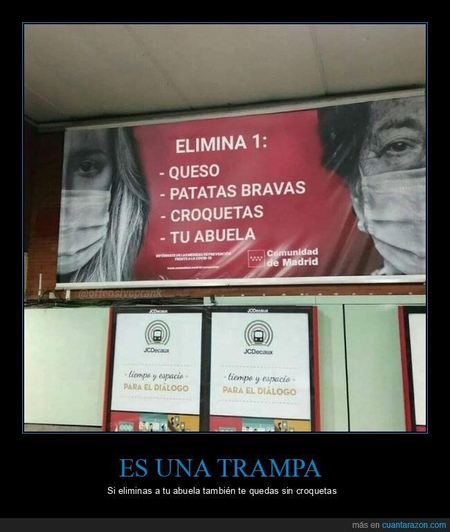abuela,coronavirus,madrid