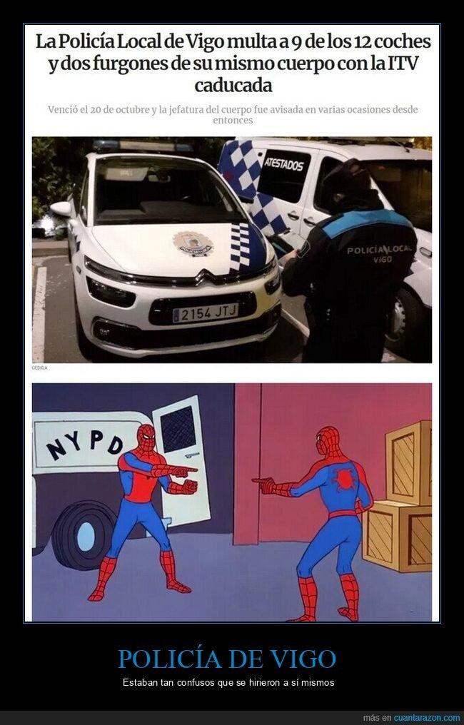 itv,multar,policía