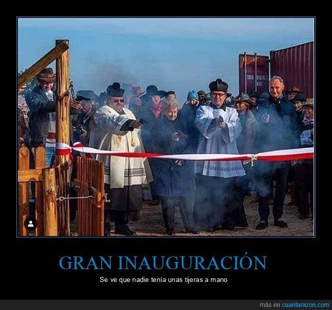 cinta,inauguración,pistolas,wtf