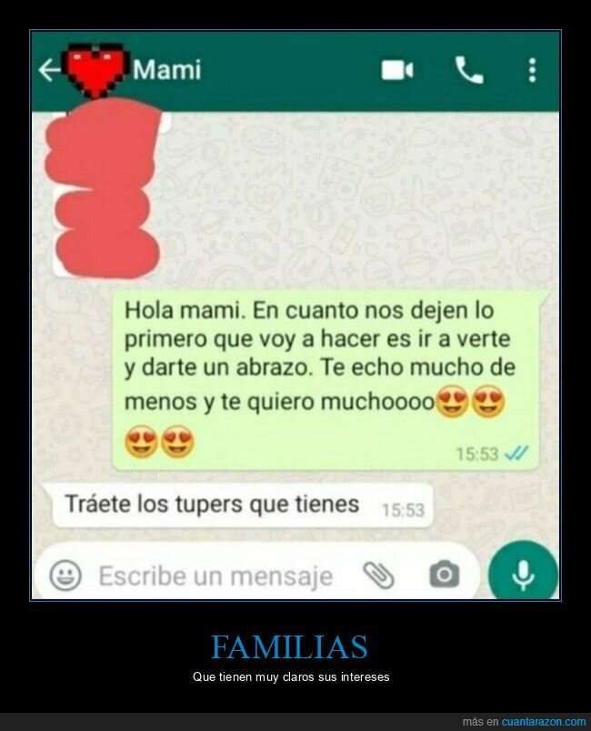 madre,tuppers,whatsapp