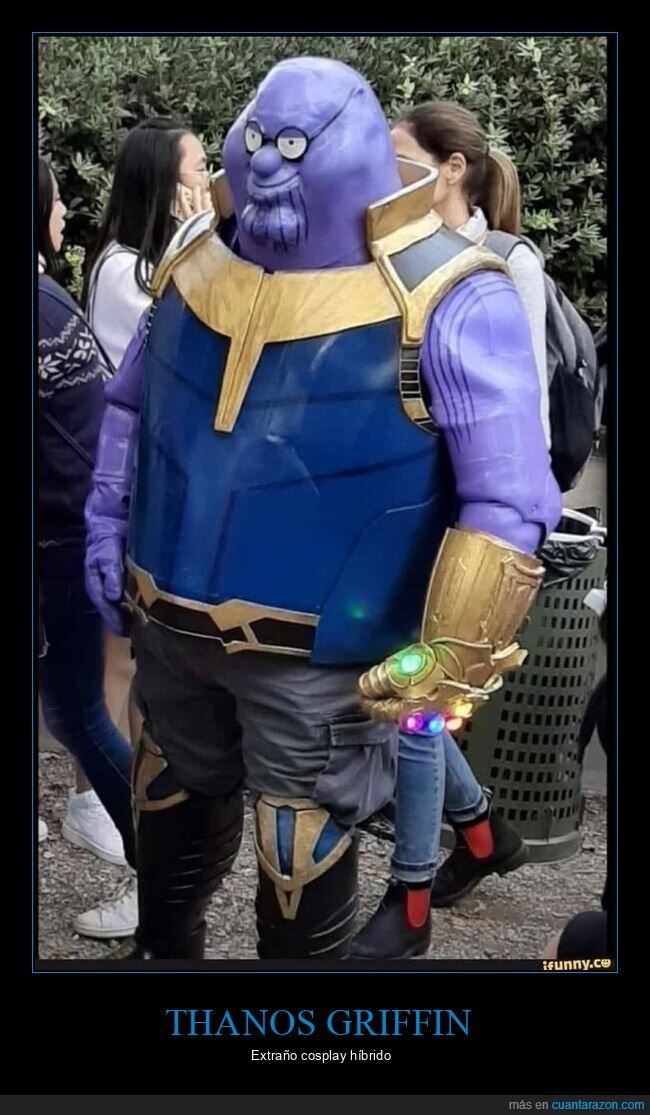 cosplay,padre de familia,peter griffin,thanos