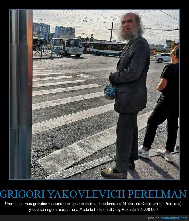 grigori yakovlevich perelman,matemático,premio