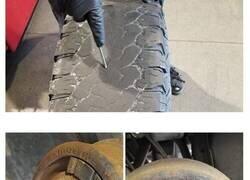 Enlace a Este empleado de una tienda de neumáticos comparte fotos de las locuras que ve en su trabajo