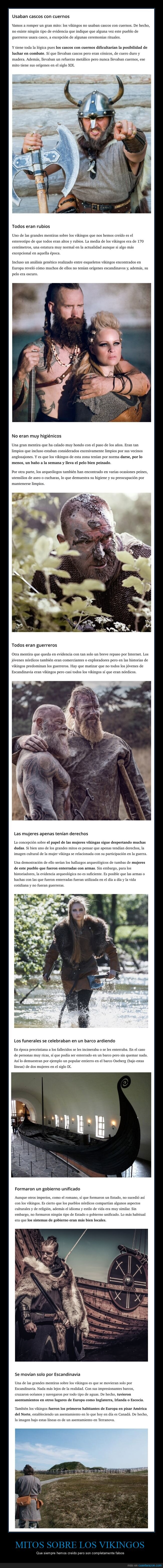 curiosidades,mitos,vikingos