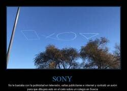 Enlace a Publicidad en el cielo