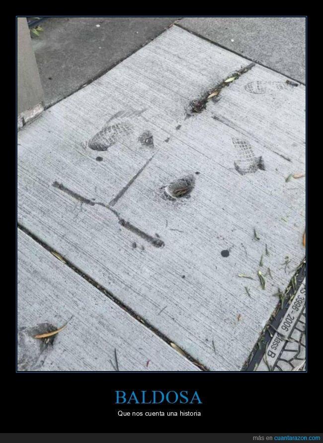 baldosa,cemento,fails,patinete