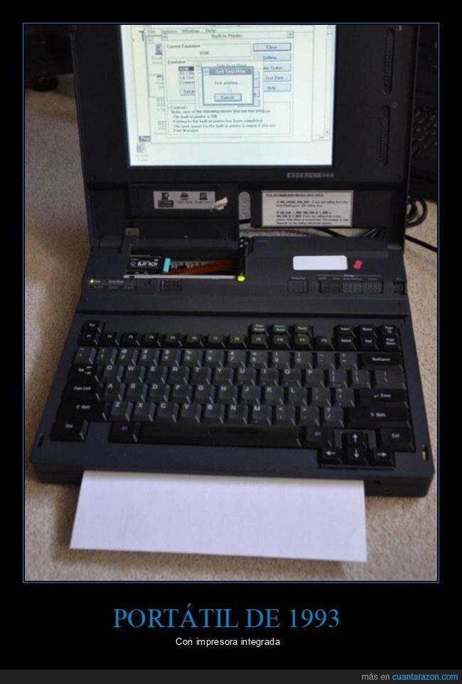 1993,impresora,portátil