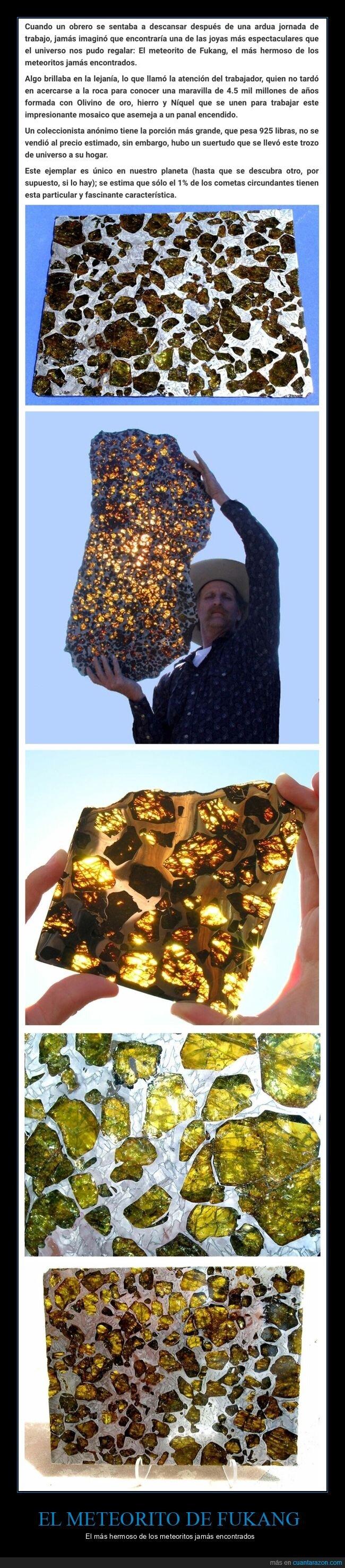 curiosidades,fukang,meteorito