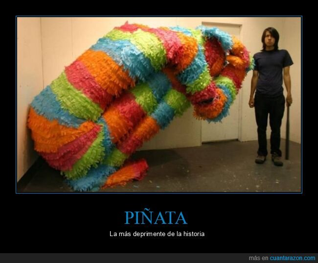deprimente,piñata
