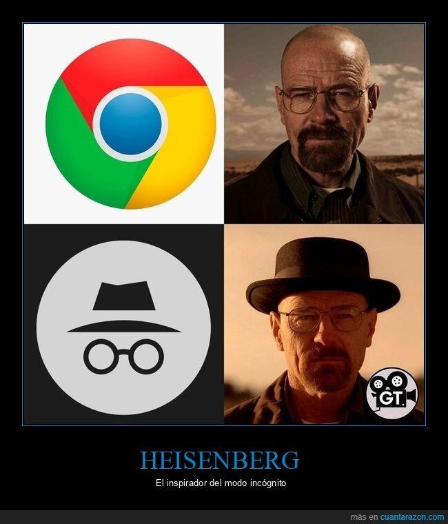 breaking bad,chorme,heisenberg,modo incógnito,walter white