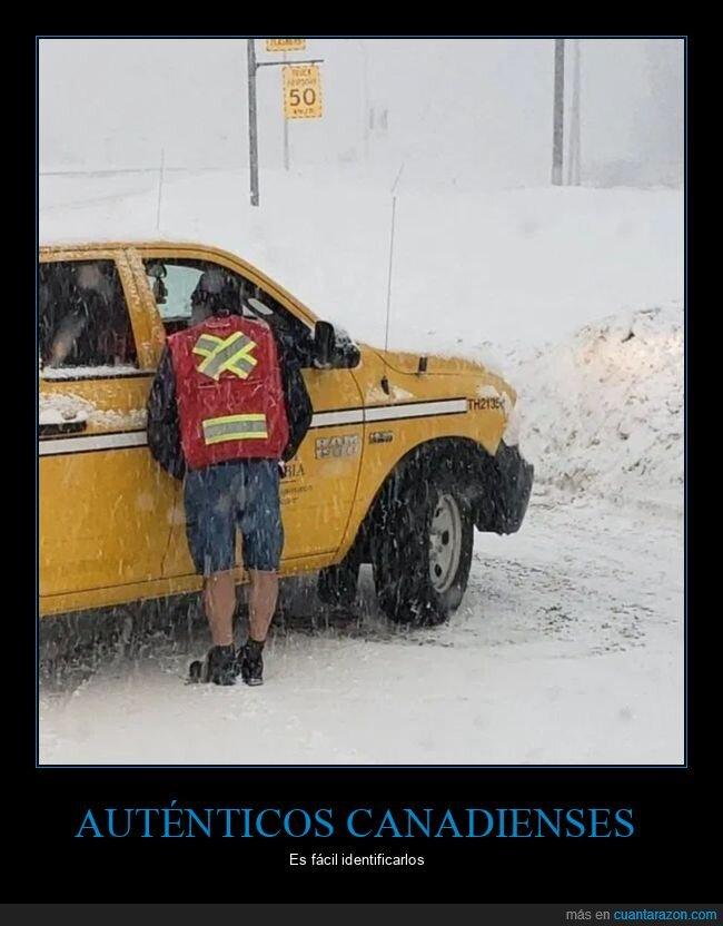 canadiense,frío,nieve,ropa,wtf