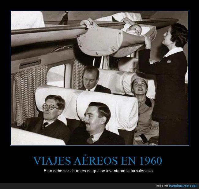 1960,avión,bebé,wtf