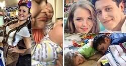 Enlace a Imágenes divertidas que muestran el antes y después de tener hijos