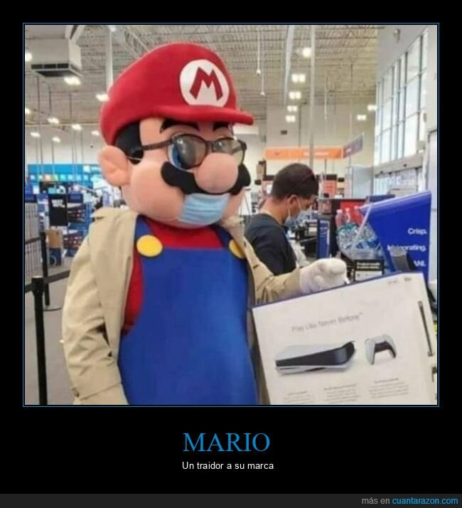 mario,playstation