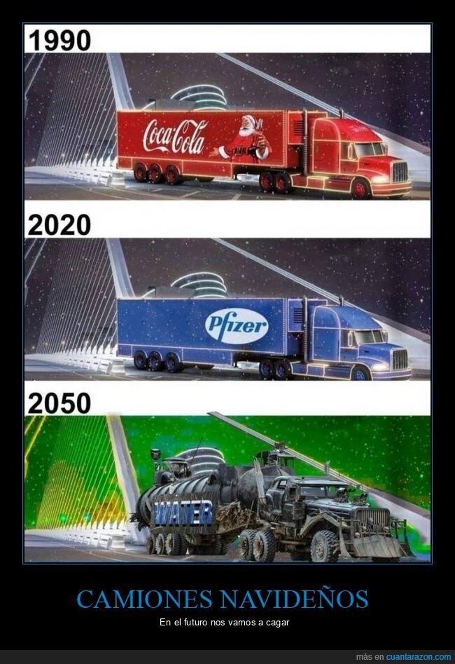 agua,camiones,navidad,pfizer