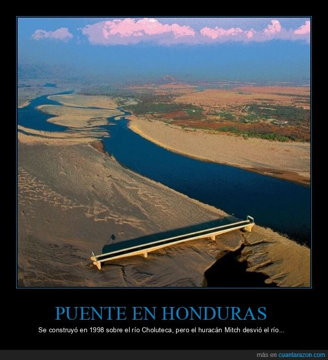 honduras,huracán,puente,río