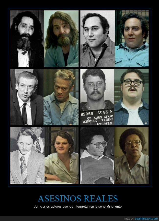 actores,asesinos,mindhunter