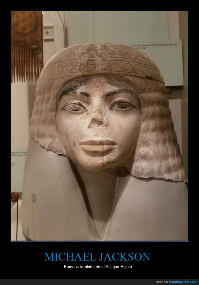 egipto,michael jackson,parecidos