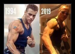 Enlace a Van Damme ayer y hoy