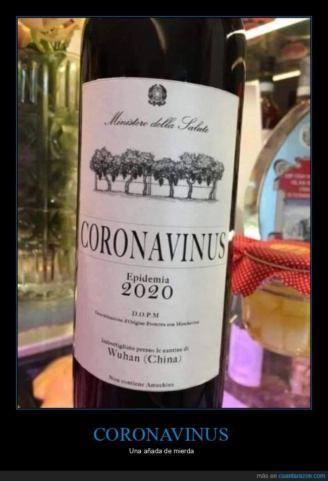 coronavinus,nombres,vino