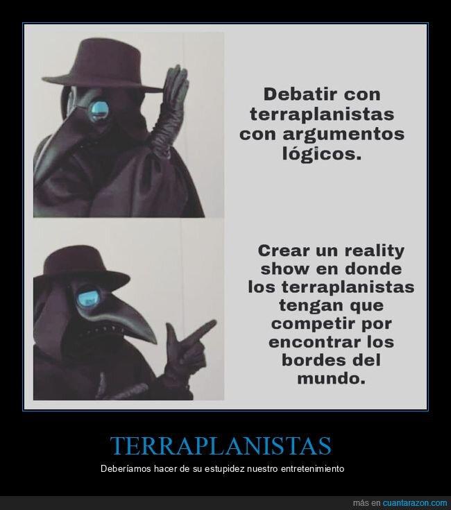 reality show,terraplanistas