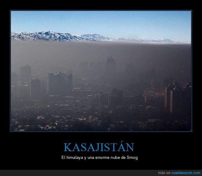 himalaya,kasajistán,smog