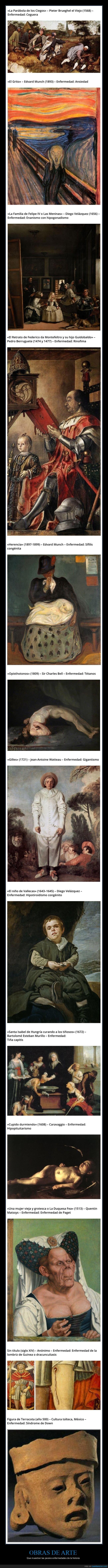enfermedades,obras de arte