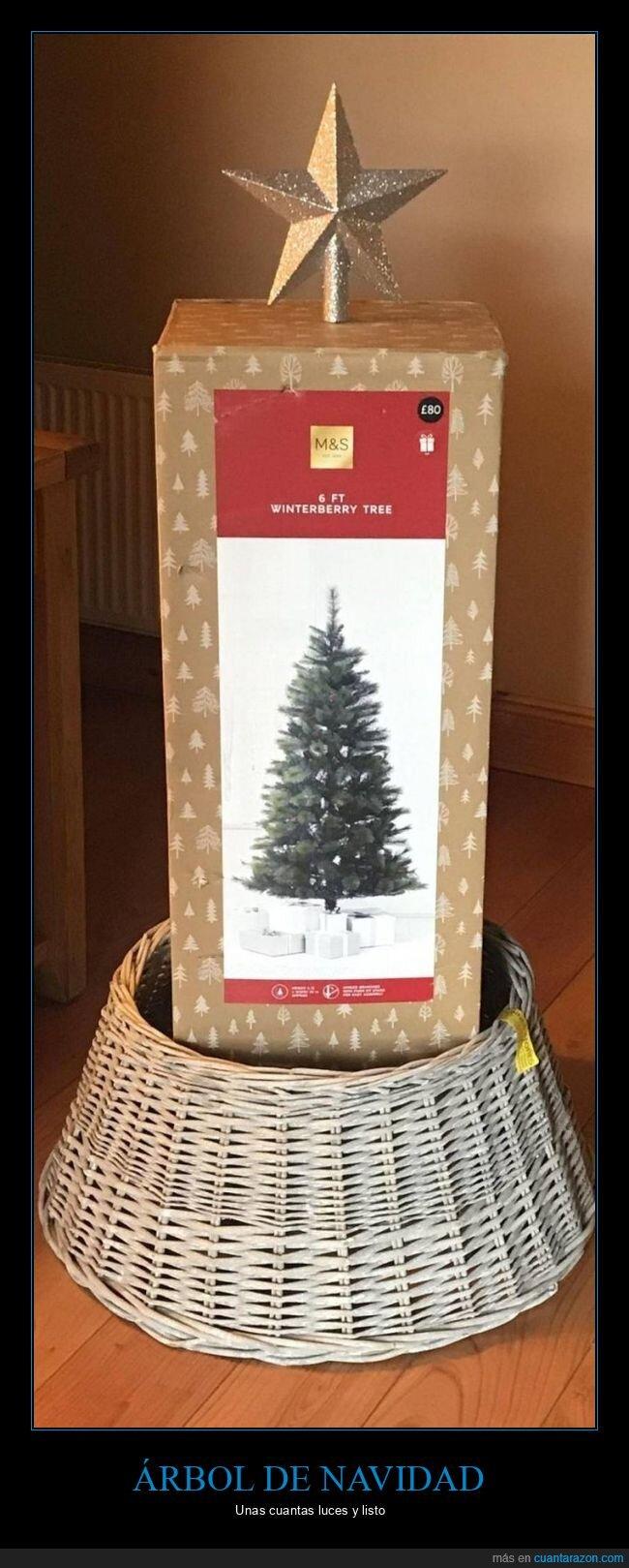 árbol de navidad,caja,vago