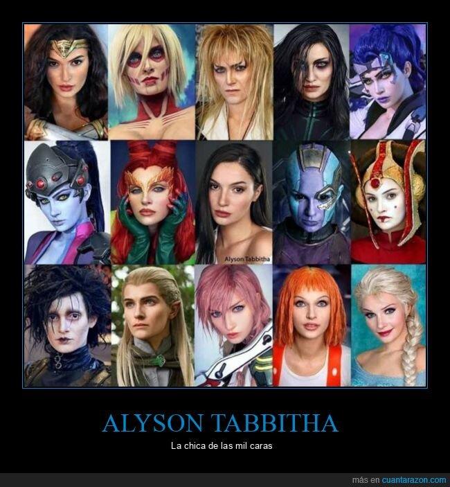 alyson tabbitha,cosplay