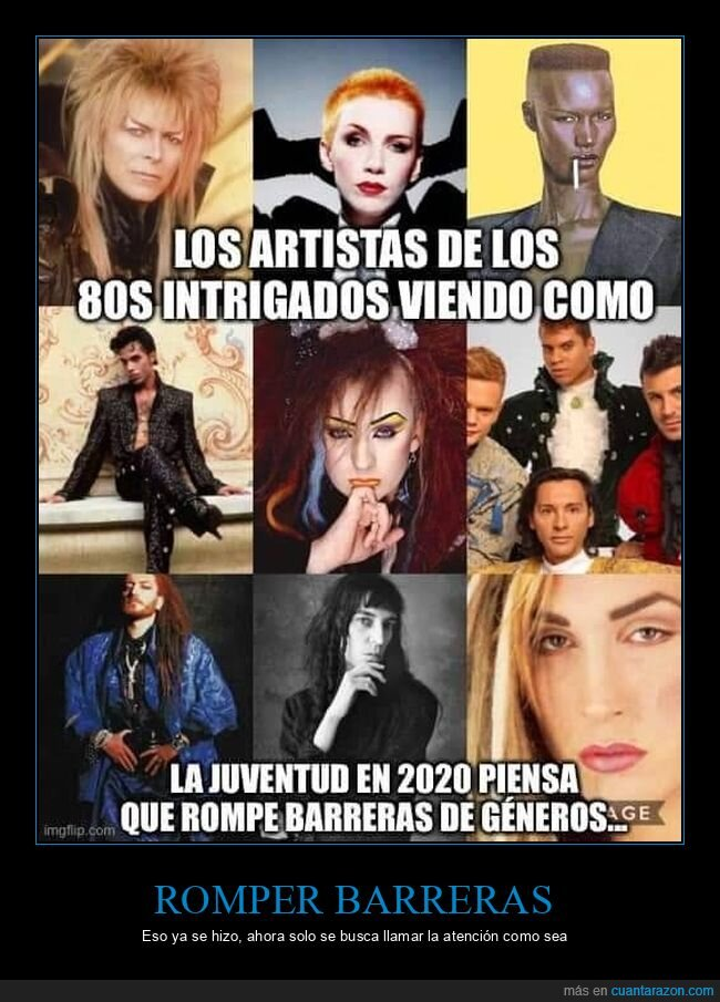 años 80,artistas