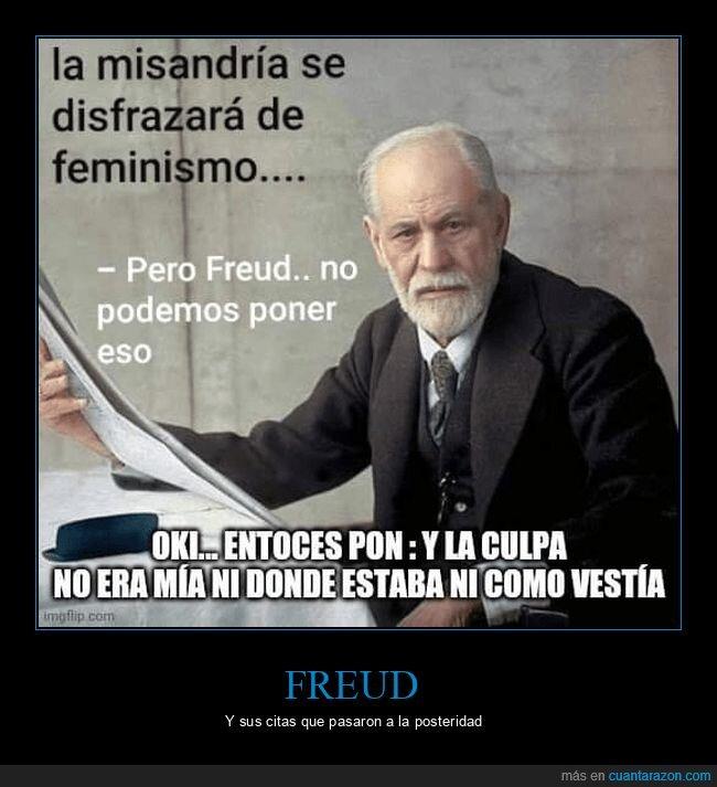 feminismo,freud,misandria