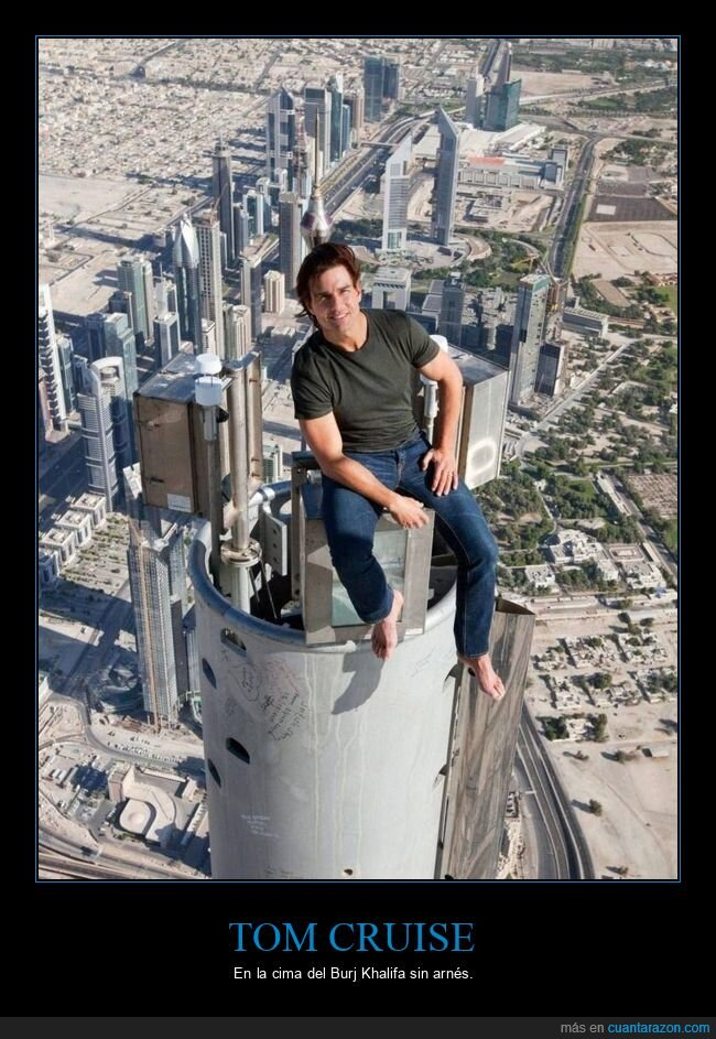 burj khalifa,tom cruise