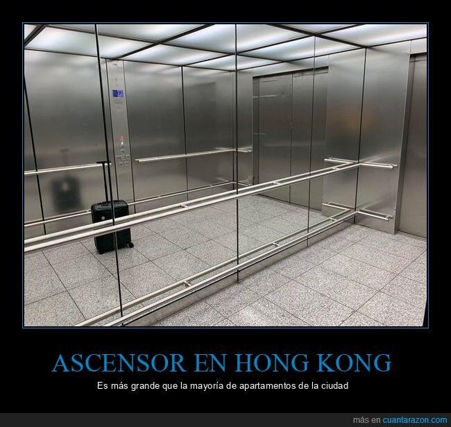 ascensor,grande,hong kong