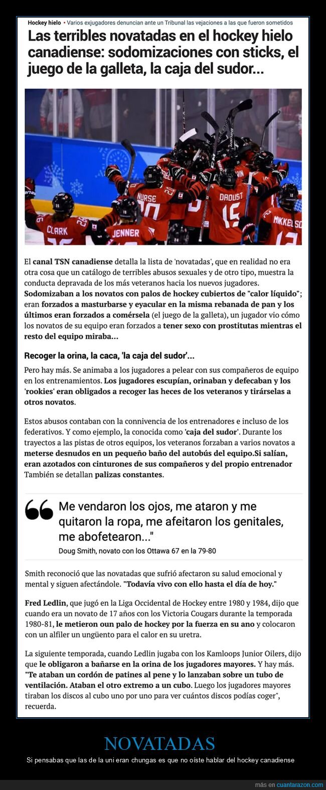 hockey,novatadas,wtf