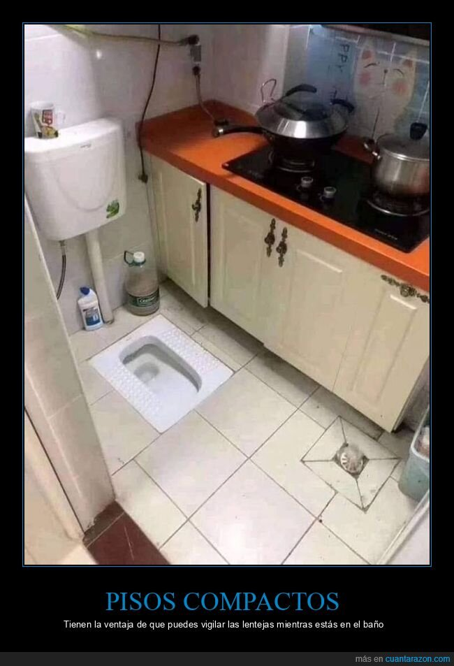 cocina,váter,wtf