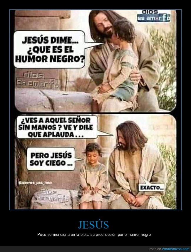 aplaudir,ciego,humor negro,jesús,sin manos,yisus