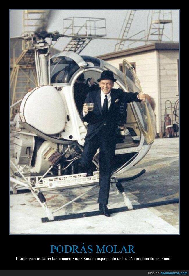 bebida,frank sinatra,helicóptero