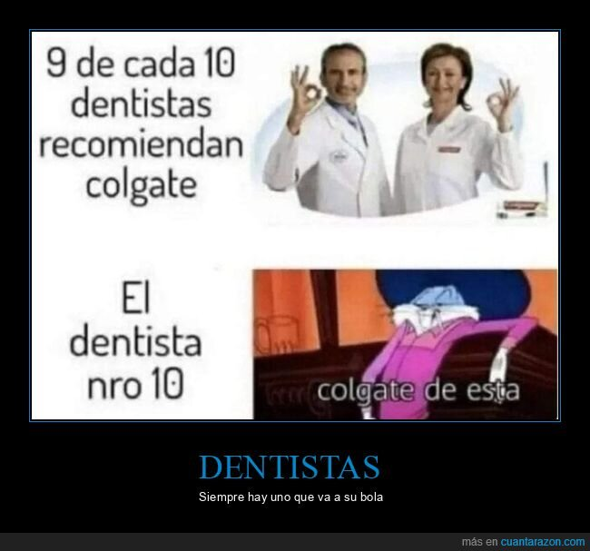 colgate,dentistas,recomendar